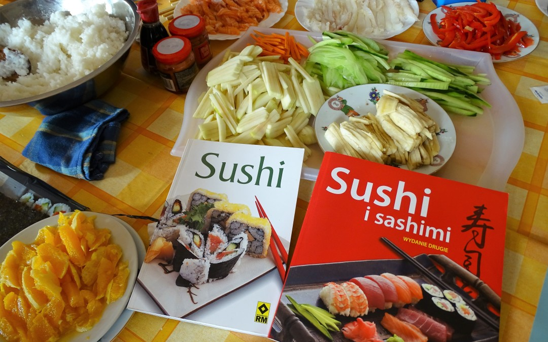 Zrobiliśmy Sushi.
